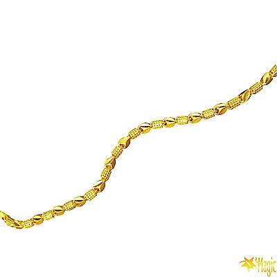 Magic魔法金-幸運黃金項鍊(約3.67錢)(約長42cm)