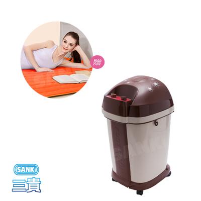 三貴SANKI 好福氣高桶足浴機 +獨立氣泡發熱墊 雙人 140x200 cm
