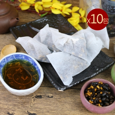 台南莊記 黃金三角黑豆茶10包(300g/包)