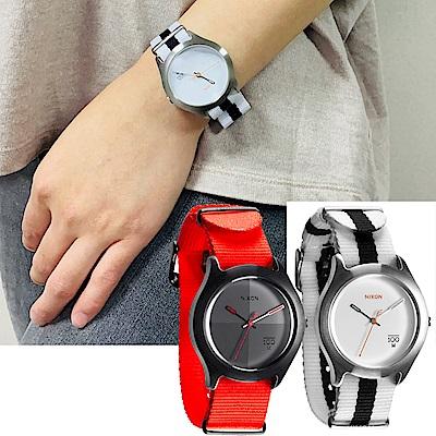 NIXON QUAD 拼裝潮流都會休閒腕錶-2色任選