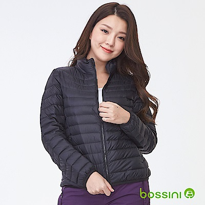 bossini女裝-高效熱能輕便羽絨外套01黑