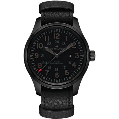 Hamilton 漢米爾頓 卡其陸戰 H-50手上鍊越戰紀念版機械錶-50mm