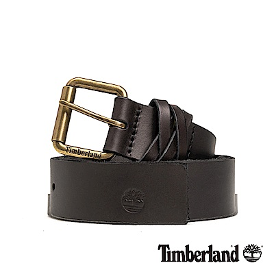Timberland 中性深棕色36mm皮帶|A1DP8