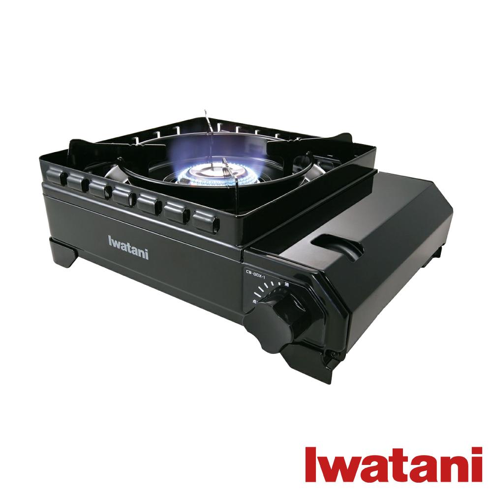 日本Iwatani 岩谷戶外防風究極黑武士磁式瓦斯爐 附外盒(CB-ODX-1)