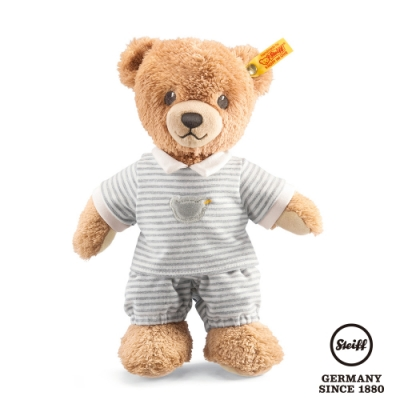 STEIFF德國金耳釦  Sleep Well Bear  晚安小熊 (嬰幼兒玩偶)