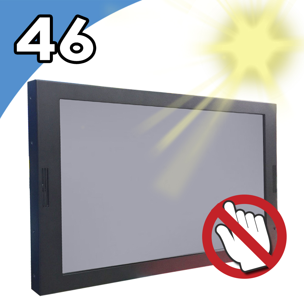Nextech I系列 46吋 室外型 多媒體廣告播放機 (無觸控/高亮度)