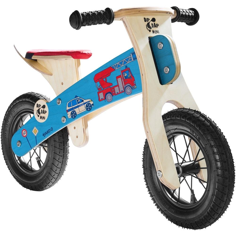 JAKO-O德國野酷 木製平衡滑步車-救援小隊