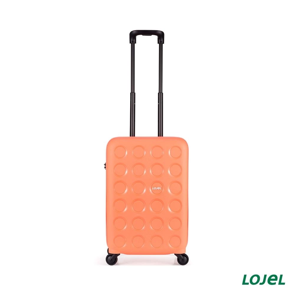 LOJEL VITA 22吋 淺桃 拉鍊拉桿箱 登機箱 行李箱 旅行箱 PP材質