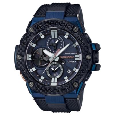 G-SHOCK 太陽能渦輪葉片設計智慧藍牙錶(GST-B100XB-2A)-53.8mm