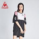 le coq sportif 法國公雞牌COQ系列潮流長版連身裙 女-黑
