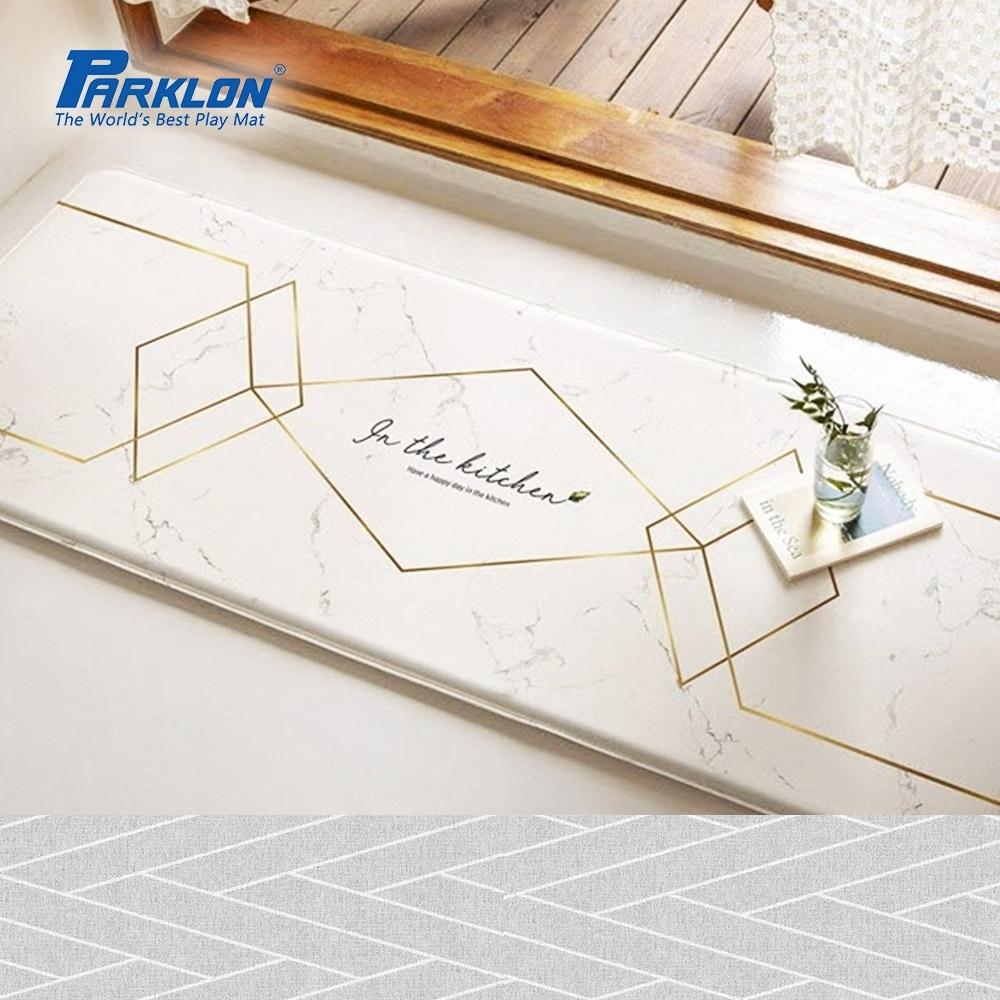 【PARKLON】韓國帕龍頂級壓花款雙面多功能墊厚1.5CM -金邊大理石