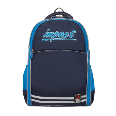 【IMPACT】怡寶新一代成長型輕量護脊書包-深藍 IM00383NY