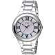 GUESS 珍珠貝錶盤晶鑽手錶-銀白-GWW12117L1-39mm product thumbnail 1