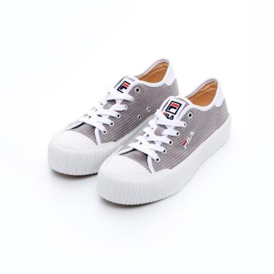 FILA BISCUITC中性休閒鞋-灰 5-C910T-411