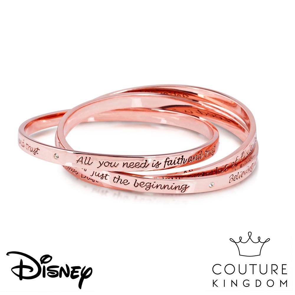 Disney Jewellery by Couture Kingdom 奇妙仙子叮叮層次玫瑰金手環