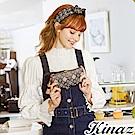 KINAZ 濃郁香氛L型拉鍊二折長夾-甜點聯盟系列