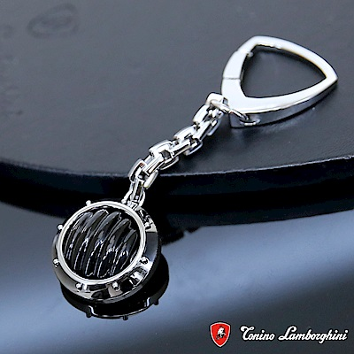 藍寶堅尼Tonino Lamborghini LUCE Black 鑰匙圈