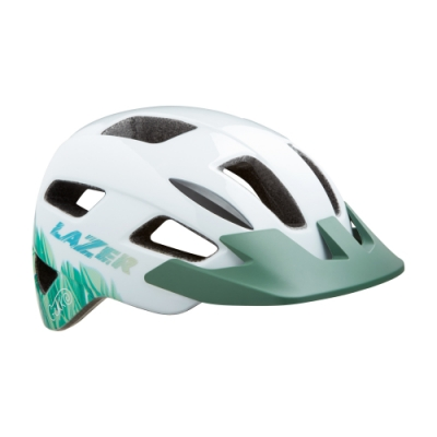 【LAZER】GEKKO 兒童用 自行車安全帽 熱帶雨林