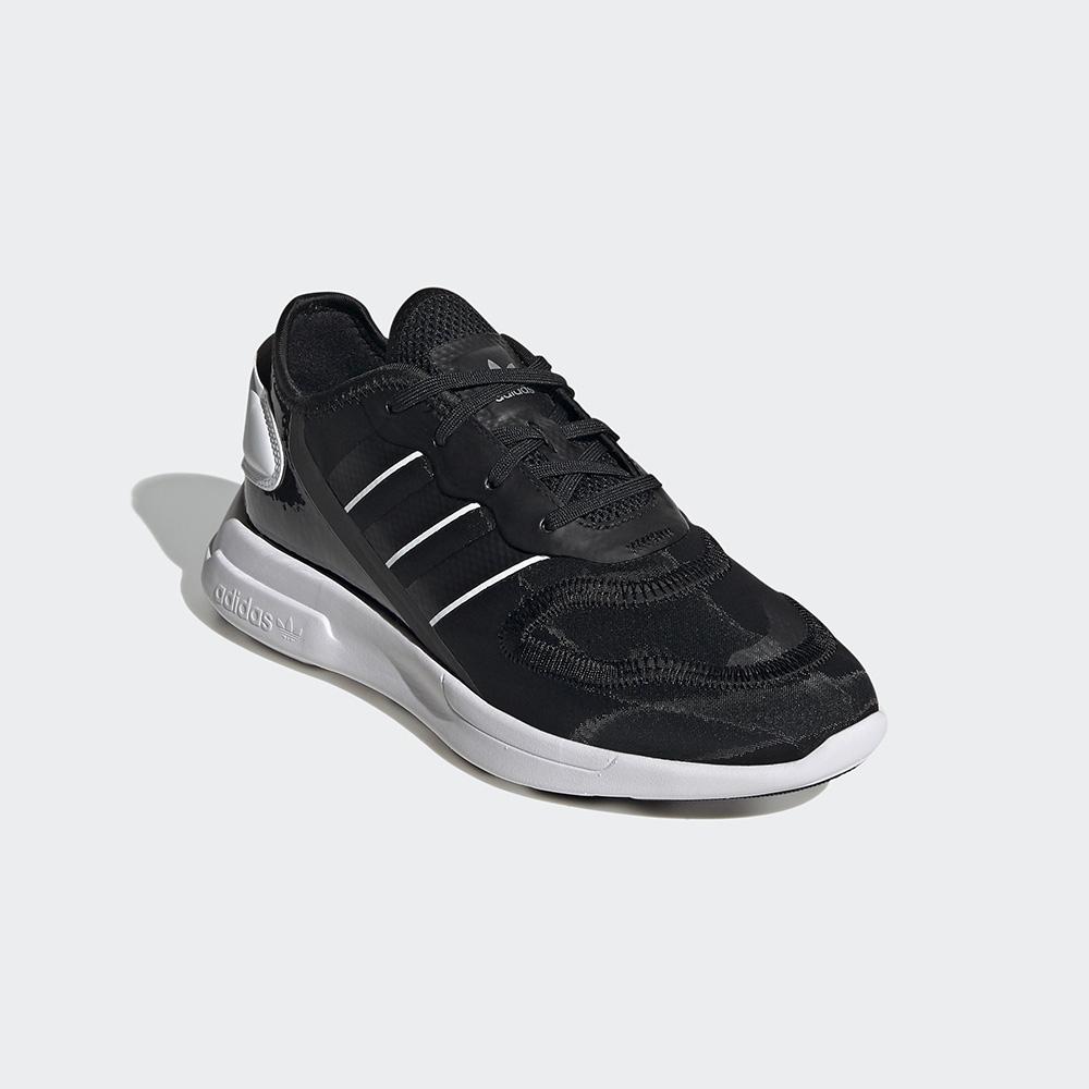 adidas ZX 2K FLORINE 黑/白 運動經典休閒鞋 女款 FW0088