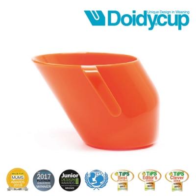 【英國Doidy cup】彩虹學習杯/訓練杯/刷牙杯-熱戀橘(專利造型設計 喝水看的見)
