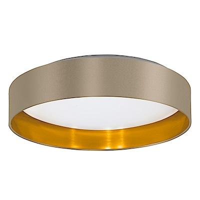 EGLO歐風燈飾 現代風雙色圓形吸頂燈