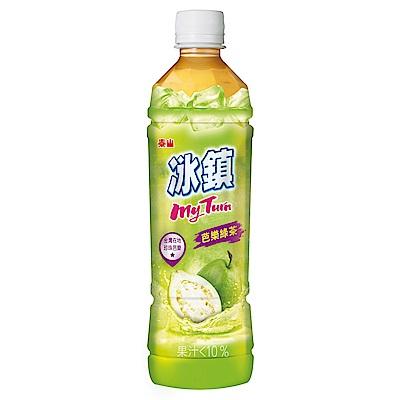 泰山 冰鎮芭樂綠茶(535mlx24入)