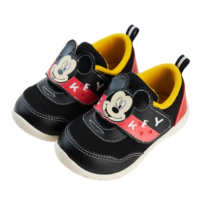 迪士尼童鞋 米奇 造型壓紋休閒鞋