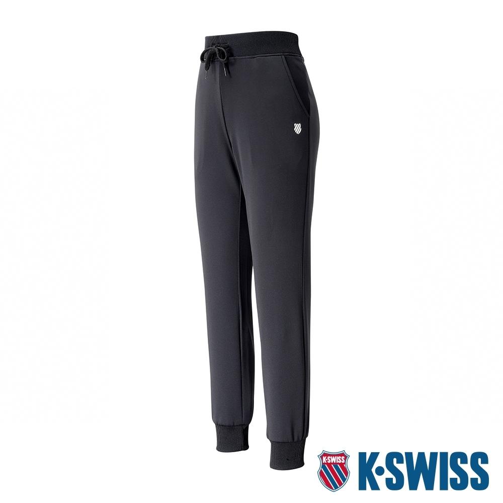 K-SWISS Knit Pants運動長褲-女-黑