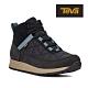 【TEVA】原廠貨 女 Ember Commute WP 高筒防水戶外休閒鞋/登山鞋(黑灰色-TV1111779BCGR) product thumbnail 1