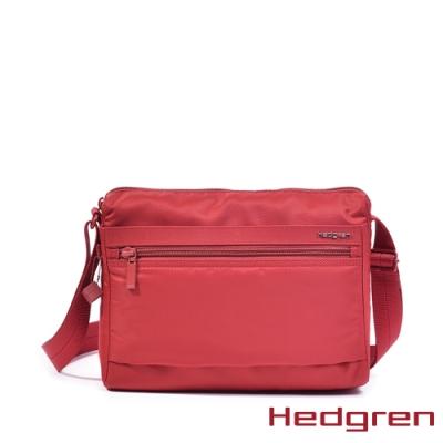 【Hedgren】紅多層收納斜背包 – HIC176M EYE