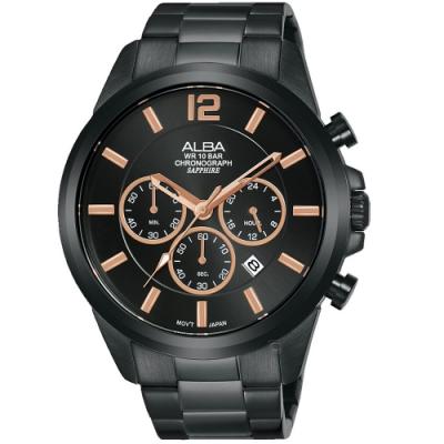 ALBA雅柏百搭潮流計時手錶(AT3G39X1)