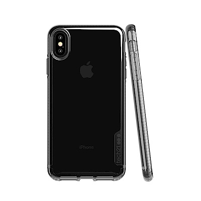 Tech21 Pure Tint iPhone Xs Max-防撞【硬式透黑】保護殼