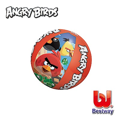 凡太奇 Bestway 憤怒鳥20吋充氣水球 96101 - 速
