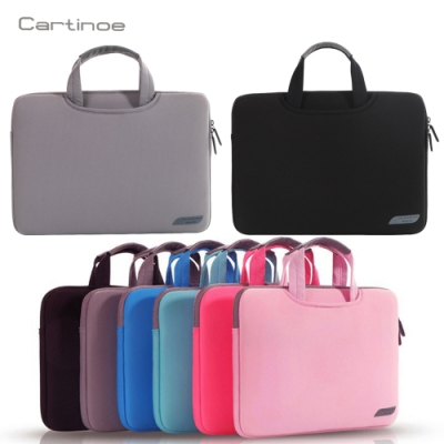 Cartinoe 11吋-15.6吋通用 商務手提式筆電包 電腦包 簡約便攜 收納包