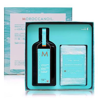 [今日限定] 摩洛哥優油愛皂限量禮盒 公司貨(125ml+沐浴皂)