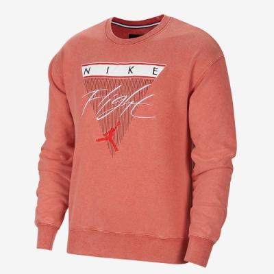 NIKE 長袖上衣 運動 上衣 男款 紅 CZ6096-687 Jordan Flight