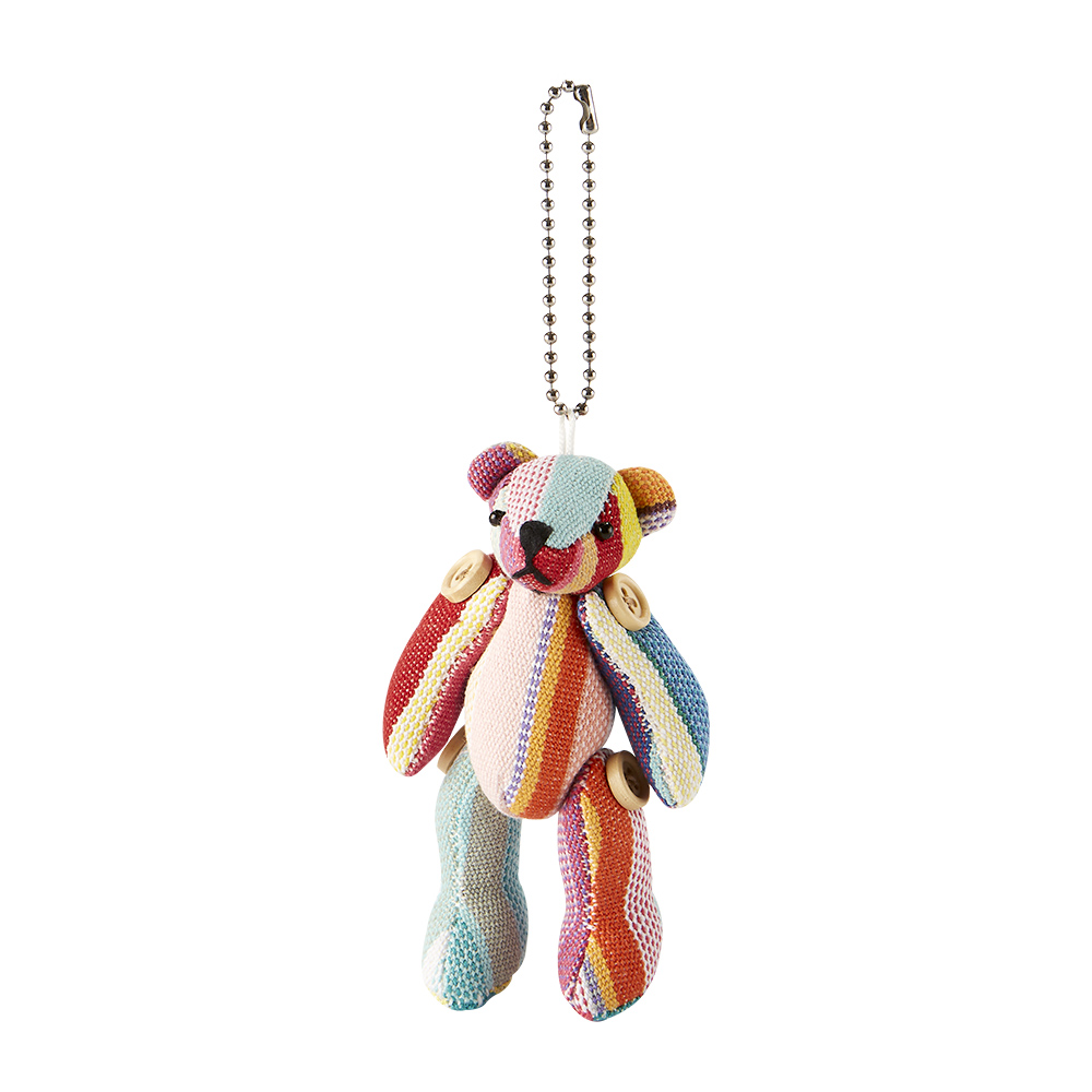 LES TOILES DU SOLEIL 法國蘇蕾包-吊飾-小熊-祭典