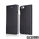 GCOMM iPhone 6S/6 金屬質感拉絲紋超纖皮套 Metalic