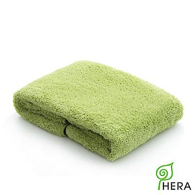 HERA 3M專利瞬吸快乾抗菌超柔纖大浴巾-香草綠