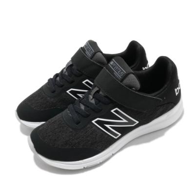 New Balance 慢跑鞋 Premus Wide 寬楦 童鞋 紐巴倫 輕便 舒適 魔鬼氈 中大童 運動 黑 白 YOPREMCKW