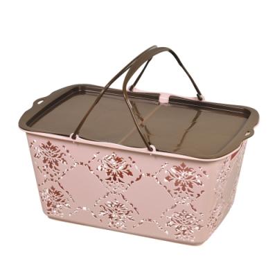 鹿牌Pearl 野餐籃/提籃 (粉紅色) D-2313