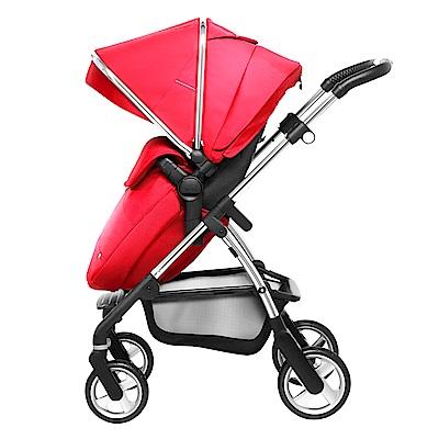 [現折 3 千再送禮]奇哥 Silver Cross Wayfarer 雙向嬰兒推車-紅色