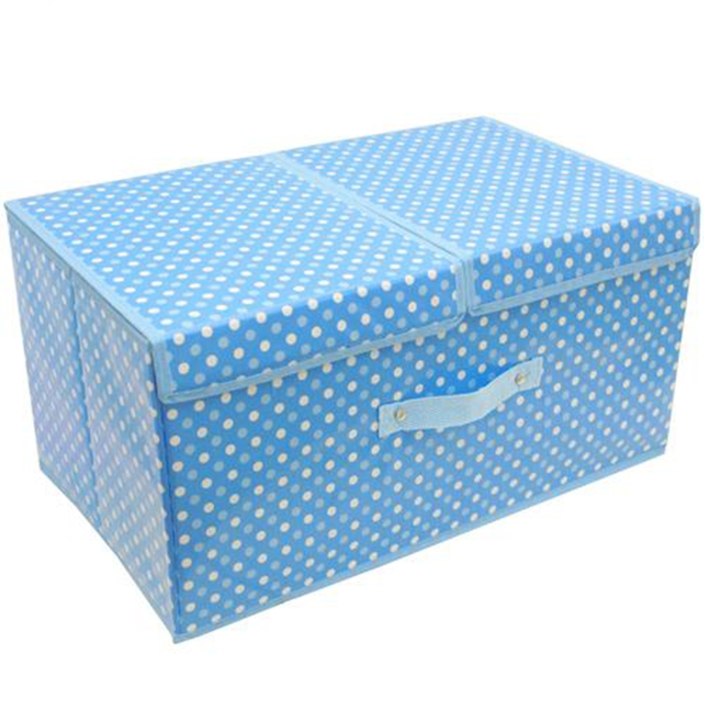月陽50X30雙蓋硬盒式PVC收納箱整理箱超值2入(PV50L2)