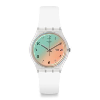 Swatch Transformation系列手錶 ULTRASOLEIL 漸層光彩