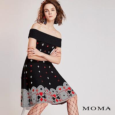 限時商品 | MOMA 撲克牌針織洋裝