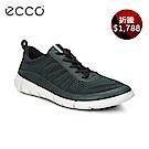 ECCO INTRINSIC 1 都市輕量步行運動鞋 男 綠
