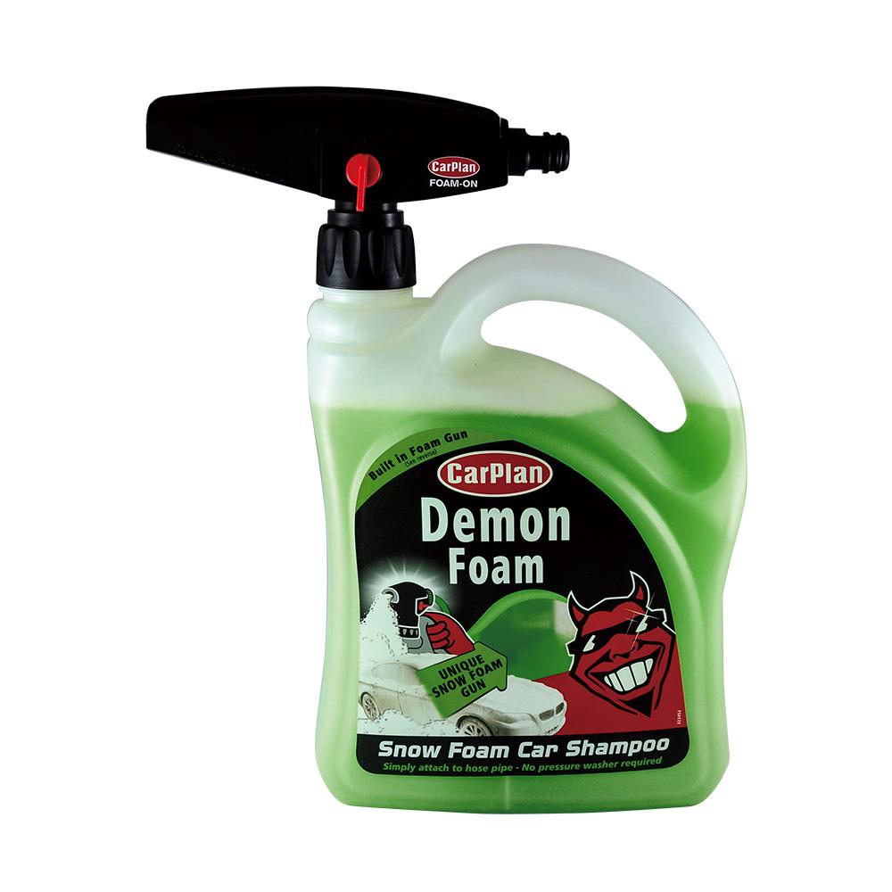 Demon紅魔鬼SnowFoamShampoo泡沫洗車淨魔