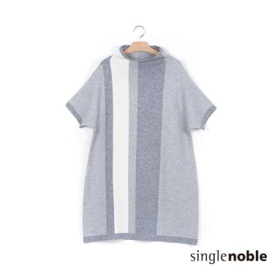 獨身貴族 簡單日常純色實搭針織洋裝(2色)