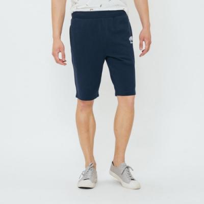 男裝Roots  BREATHE棉質短褲-藍