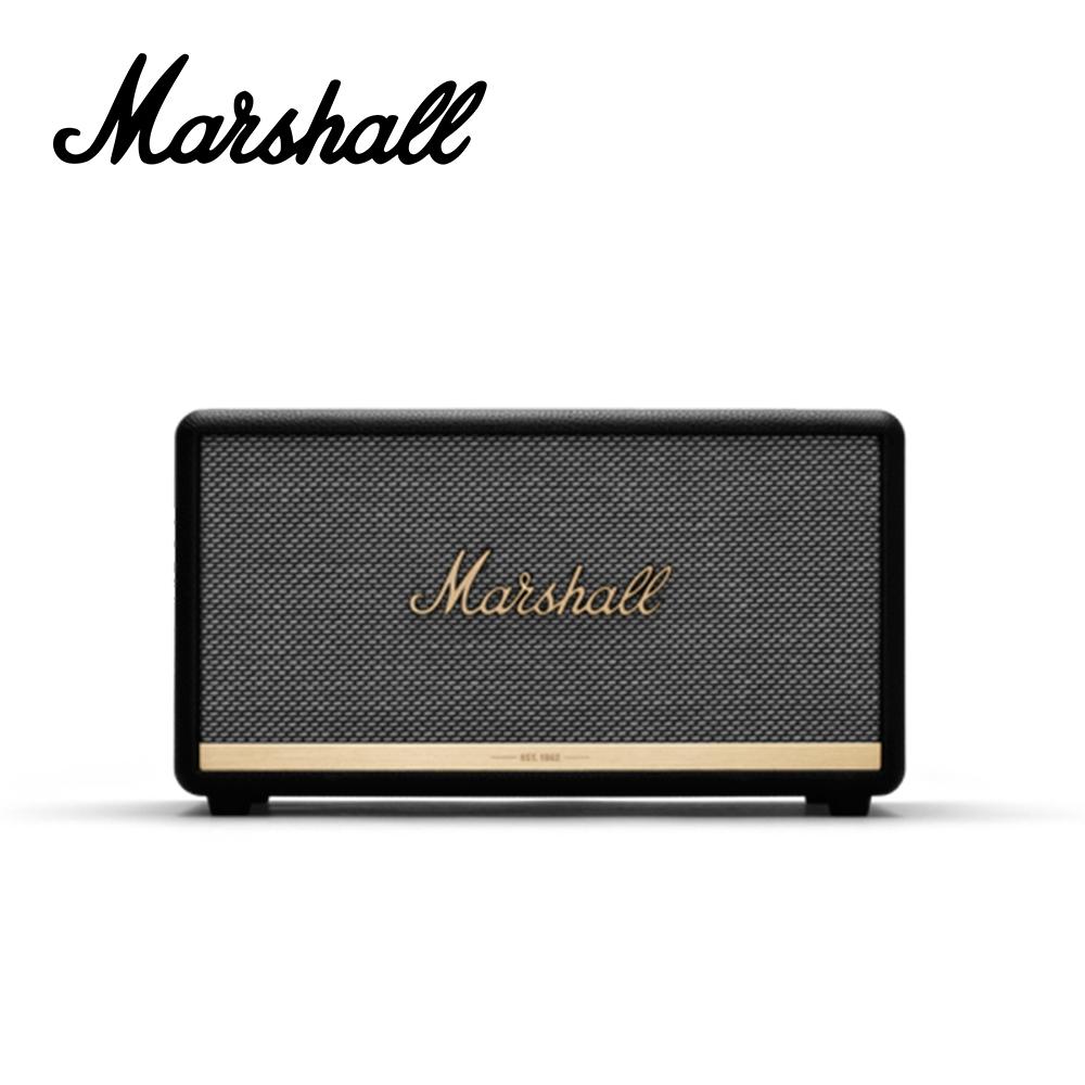 Marshall Stanmore BT II 藍芽喇叭音箱 經典黑色款